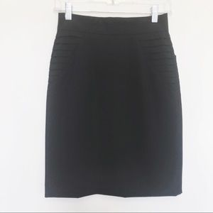 NWT Black Gianni Bini Pencil Skirt Size 0